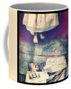 Girl In Abandoned Room Coffee Mug
