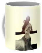 Girl In White Dress Coffee Mug