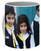 Girl Scouts At Orthodox Christmas Celebration Coffee Mug