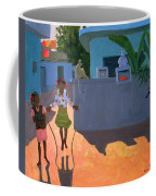 Girl Skipping Coffee Mug