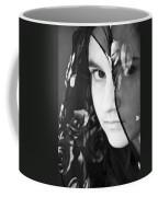 Girl With A Rose Veil 3 Bw Coffee Mug