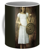 Girl With Gong Coffee Mug