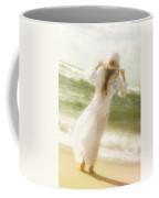 Girl With Sun Hat Coffee Mug by Joana Kruse