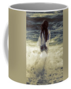 Girl With Teddy Coffee Mug