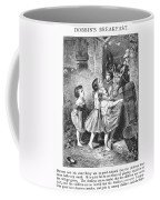 Girls And Donkeys, C1870 Coffee Mug