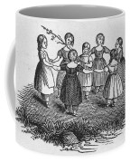 Girls Playing, 1844 Coffee Mug