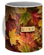 Give-autumn Coffee Mug