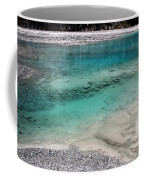 Glacial Pool Inn South New Zealand Coffee Mug