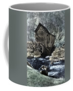 Glade Creek Mill In Infrared. Coffee Mug