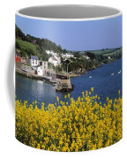 Glandore Village & Harbour, Co Cork Coffee Mug