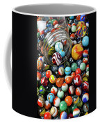 Glass Jar And Marbles Coffee Mug
