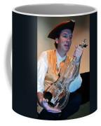 Glass Violin Coffee Mug