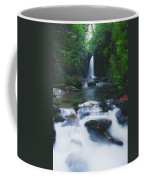 Glencar, Co Sligo, Ireland Waterfall Coffee Mug