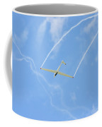 Glider Aerobatics Against Blue Sky Canvas Poster Photo Print Coffee Mug
