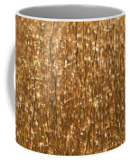 Glistening Gold Prairie Grass Abstract Coffee Mug