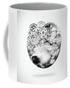 Globe With Cogs And Gears Coffee Mug