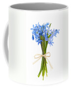 Blue Wildflower Bouquet Coffee Mug
