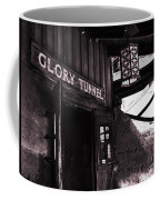Glory Tunnel Mine Entrance In Calico California Coffee Mug by Susanne Van Hulst