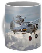 Gloster Gladiator Coffee Mug by Pat Speirs