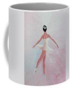 Glowing Ballerina Original Palette Knife  Coffee Mug