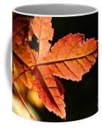 Glowing Gold Coffee Mug