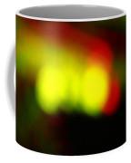 Glowing Orbs Of Yellow And Red Coffee Mug