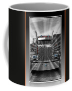 Glowing Pete Abstract Coffee Mug