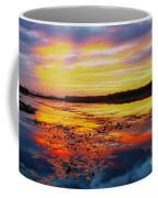 Glowing Skies Over Crews Lake Coffee Mug