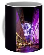 Glowing Sony Center Coffee Mug