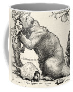 Glyptodon And Megatherium, Extinct Fauna Coffee Mug