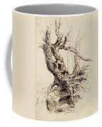 Gnarled Tree Trunk Coffee Mug