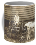 Goat Wagon Coffee Mug