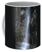 Going To The Sun Road Waterfall Coffee Mug