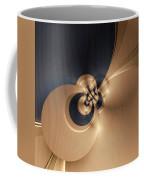 Gold And Indigo Coffee Mug