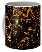 Gold Bokeh Lights Abstract Coffee Mug