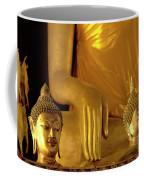 Gold Buddha Figures Coffee Mug