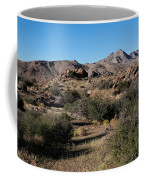 Gold Butte Tumbling Terrain  Coffee Mug