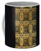 Gold Cathedral Ceiling Italy Coffee Mug