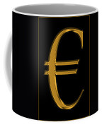 Gold Euro  Coffee Mug