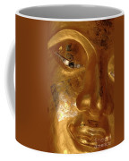 Gold Face Of Buddha Coffee Mug