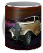 Gold Hot Rod Coffee Mug