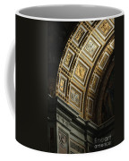 Gold Inlay Arches St. Peter's Basillica Coffee Mug