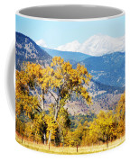 Gold Leaves Coffee Mug