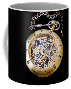 Gold Pocket Watch Coffee Mug