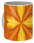 Golden 4 Leaf Clover  Coffee Mug