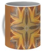 Golden Abstarct Energy Coffee Mug