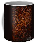 Golden Abstract Coffee Mug