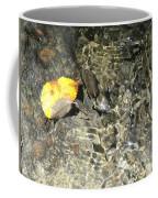 Golden Clear Ripples Coffee Mug