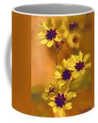Golden Coreopsis Wildflowers  Coffee Mug