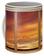 Golden Country Sunrise Window View Coffee Mug by James BO  Insogna